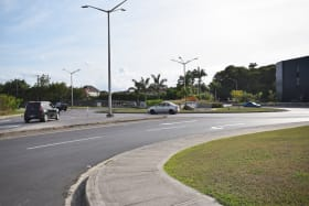 Roundabout on Highway 2