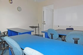 Good size rooms for offices or classrooms
