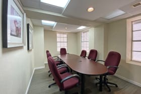 Outfitted boardroom - Top floor space only