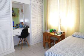 Bedroom 2 with built in cupboards