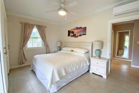 Spacious master bedroom with en suite