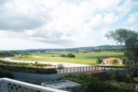 View looking west over the new development - The Estates