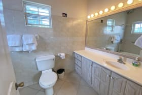 Bathroom with ample counter space
