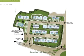 Site plan of the development showing location of unit 704 to the North