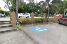 Easy parking access to the building
