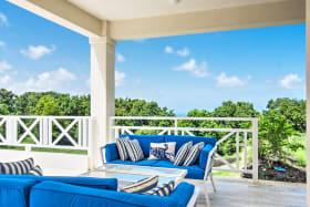 Pool deck living space