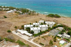 Aerial view of Lighthouse Resort