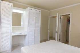 Bedroom 1 with closet space