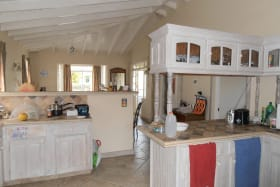 Well appointed open-plan kitchen