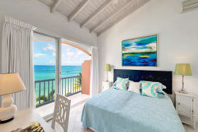 Guest bedroom with picturesque views