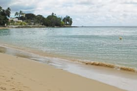 Excellent swimming bay