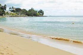 Warm calming waters await steps away