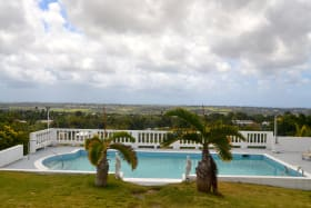 Pool and Views across Barbados