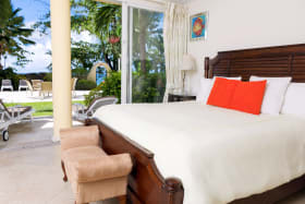 Main Bedroom on Pool Level
