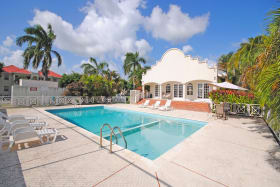 Club house and pool