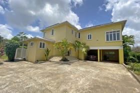 Satara front entrance, driveway and double car garage