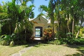 Front entrance to Sandford Cottage