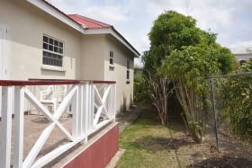 Side of House with Open Patio