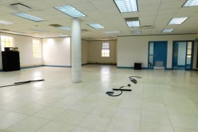 Open Plan with Electrical floor outlets