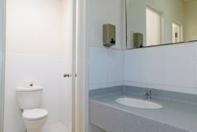 Male and Female Bathrooms