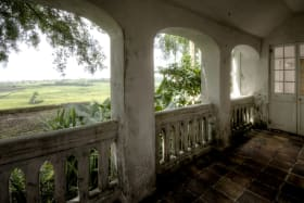 One of Two Side Verandah with Views