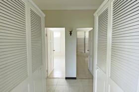 Ample Storage and bedrooms side by side