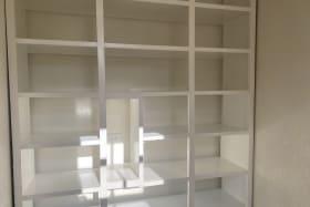 Storage within Laundry