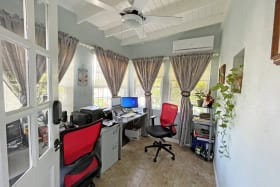 Home office in the extension