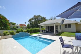 Inviting pool deck
