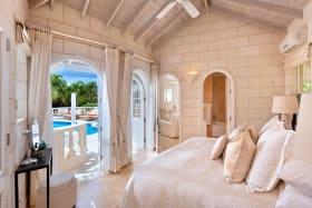 Guest bedroom 1 in cottage