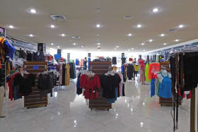 Open Retails section on Ground Floor