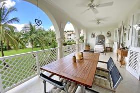 Gorgeous terrace overlooking pool & gardens