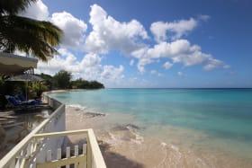 Beach access and sea views