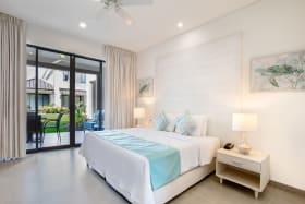Beach View Villa master bedroom