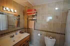 Ensuite bathroom to Bedroom one on ground floor
