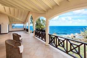 Patio with Sea Views