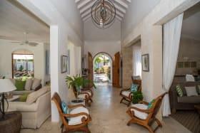Villa Hallway Entry
