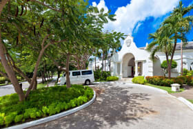 Sanctuary with pool and gym at Royal Westmoreland