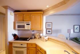 Ample cupboard space