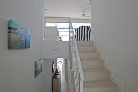 Staircase from entrance door
