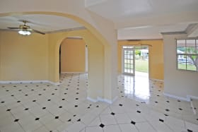 Spacious ground floor