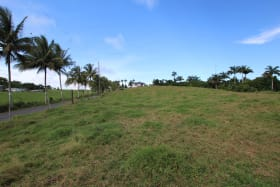 Lot facing north-east