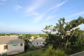 Sea view from the front of the house