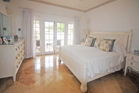 Master suite that opens out to the pool terrace