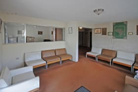 Reception room of doctors office