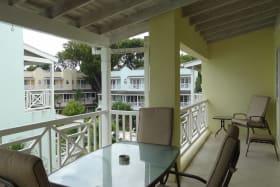 Patio with garden or sea views