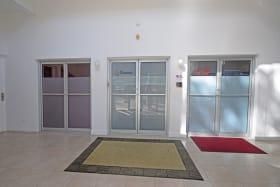 Main entrance (left door)