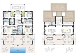 Villa Fuchsia floor plan