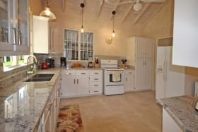 Kitchen with all new small appliances
