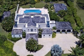 Aerial View of Monkey Manor